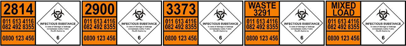 transportation of infectious substances