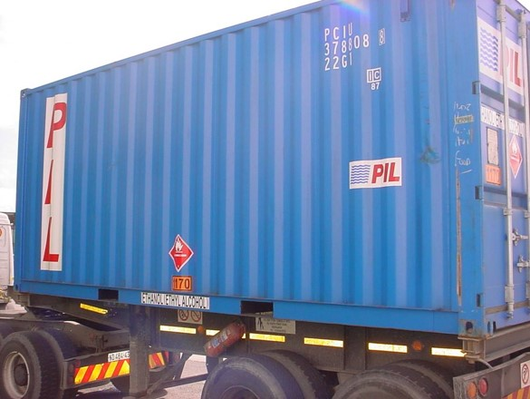Split placarding (Freight Containers/IMDG Containers)